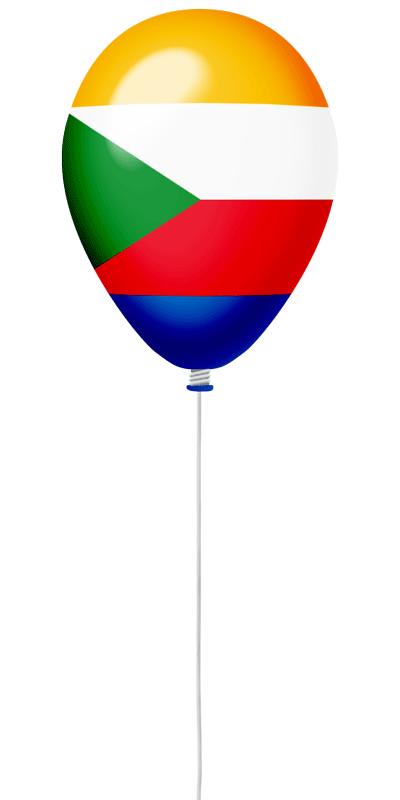 コモロ連合の国旗-風せん