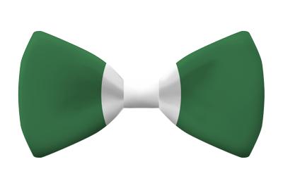 ナイジェリア連邦共和国の国旗-蝶タイ