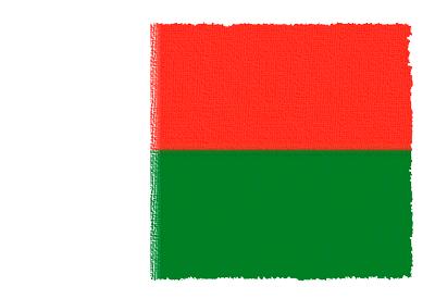 マダガスカル共和国の国旗-パステル