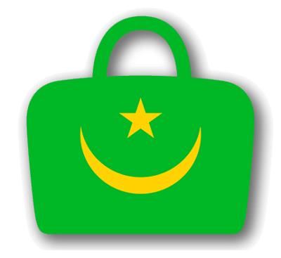 モーリタニア・イスラム共和国の国旗-バッグ