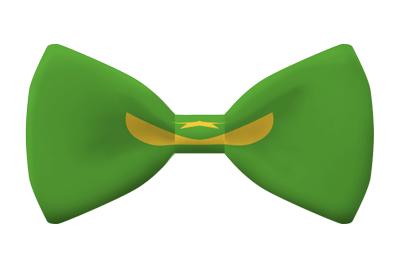モーリタニア・イスラム共和国の国旗-蝶タイ