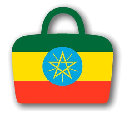 エチオピア連邦民主共和国の国旗-バッグ