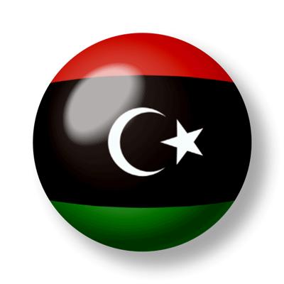 リビアの国旗-ビー玉