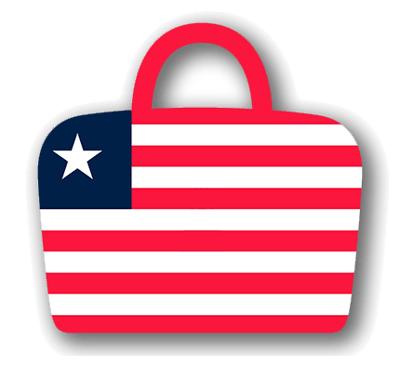 リベリア共和国の国旗-バッグ
