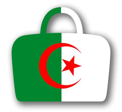 アルジェリアの国旗-バッグ
