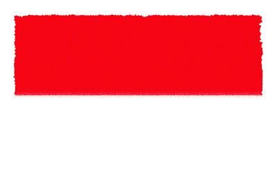 インドネシア共和国の国旗-パステル