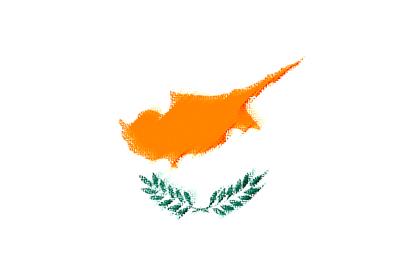 キプロス共和国の国旗-パステル