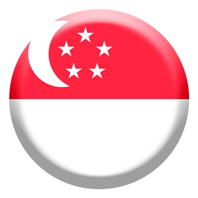 シンガ・ポール共和国の国旗-コイン