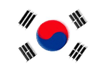 大韓民国の国旗-パステル