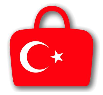 トルコ共和国の国旗-バッグ