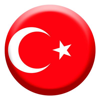 トルコ共和国の国旗-コイン
