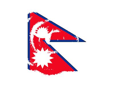 ネパール連邦民主共和国の国旗-クラヨン2