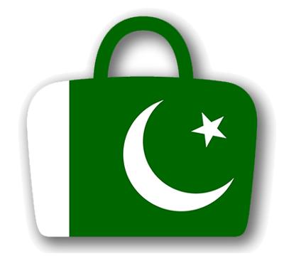 パキスタン・イスラム共和国の国旗-バッグ