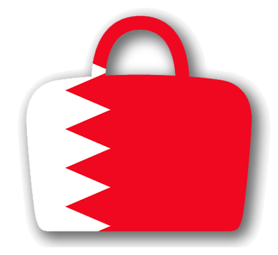 バーレーン王国の国旗-バッグ