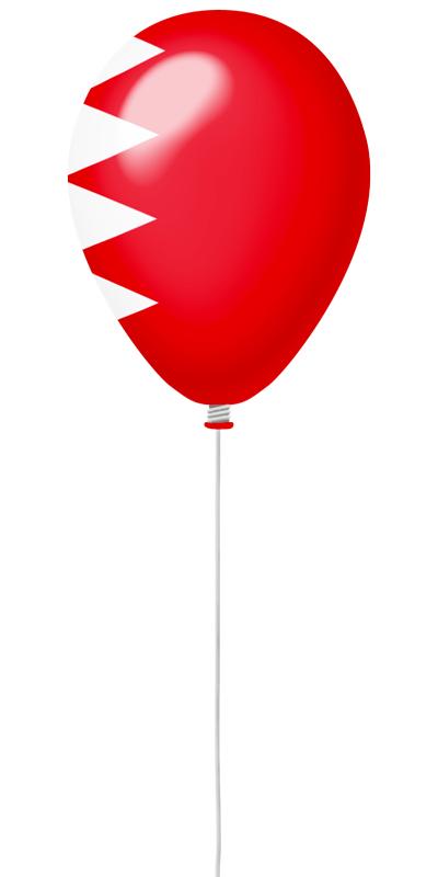 バーレーン王国の国旗-風せん