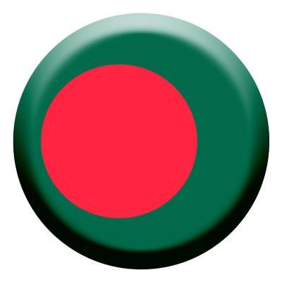 バングラデシュ人民共和国の国旗-コイン