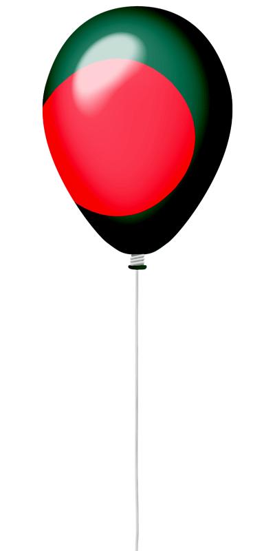 バングラデシュ人民共和国の国旗-風せん