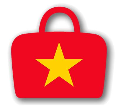 ベトナム社会主義共和国の国旗-バッグ