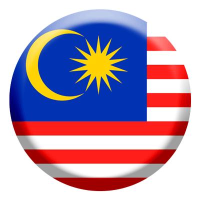 マレーシアの国旗-コイン
