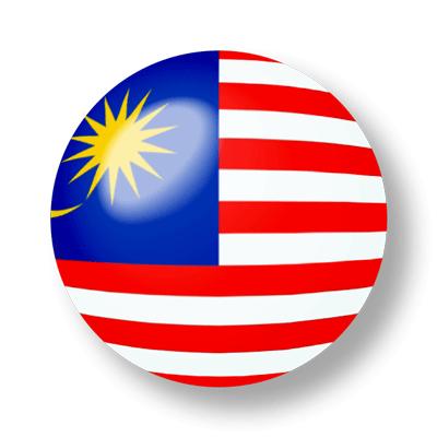 マレーシアの国旗-ビー玉