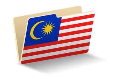 マレーシアの国旗-フォルダ