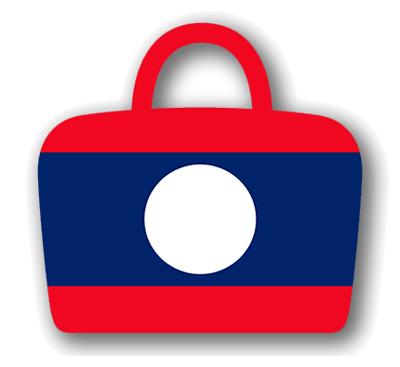 ラオス人民民主共和国の国旗-バッグ
