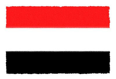 イエメン共和国の国旗-パステル