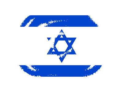 イスラエル国の国旗-クラヨン2