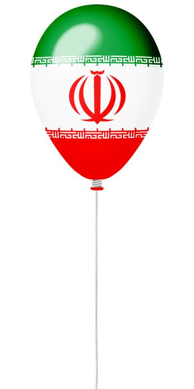 イラン・イスラム共和国の国旗-風せん