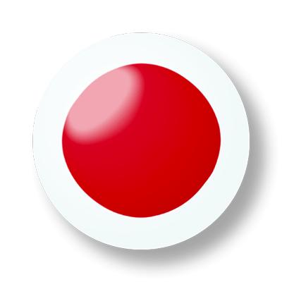 日本の国旗-ビー玉