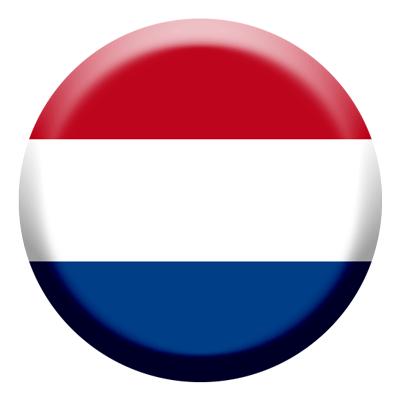 オランダ王国の国旗-コイン