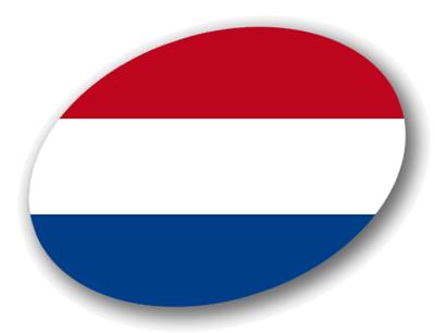 オランダ王国の国旗-楕円