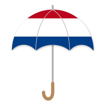 オランダ王国の国旗-傘