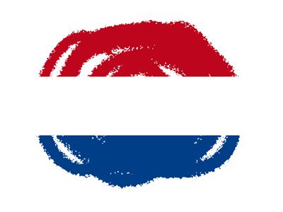オランダ王国の国旗-クラヨン2