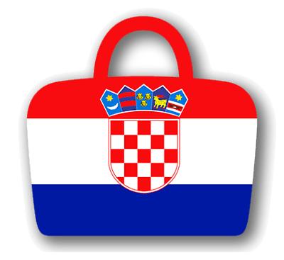 クロアチア共和国の国旗-バッグ