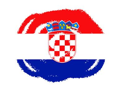 クロアチア共和国の国旗-クラヨン2