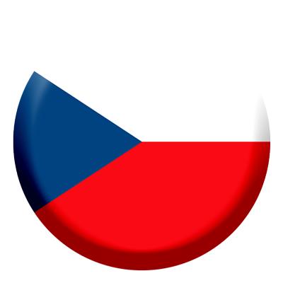 チェコ共和国の国旗-コイン