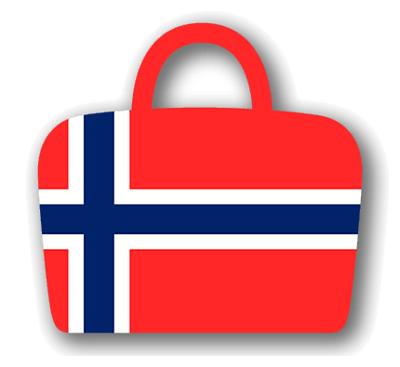 ノルウェー王国の国旗-バッグ