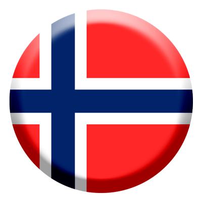 ノルウェー王国の国旗-コイン
