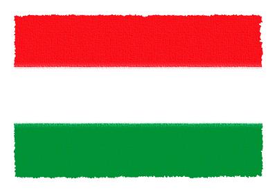 ハンガリーの国旗-パステル