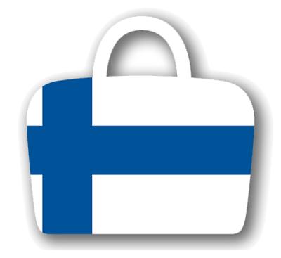 フィンランド共和国の国旗-バッグ