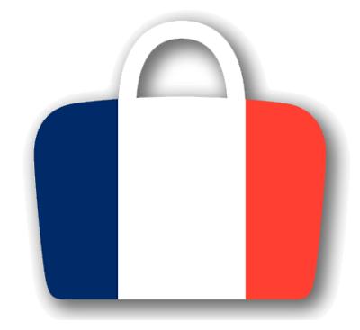 フランス共和国の国旗-バッグ