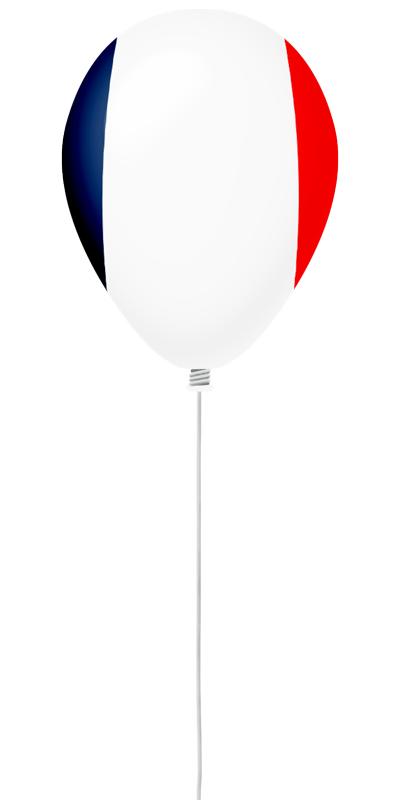 フランス共和国の国旗-風せん