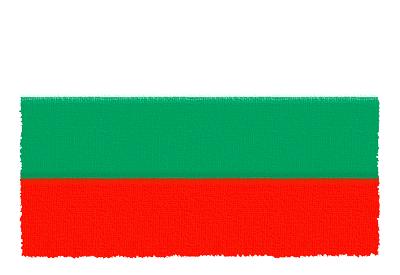 ブルガリア共和国の国旗-パステル