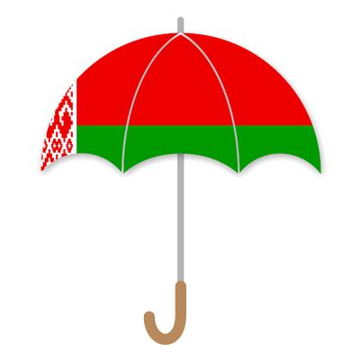 ベラルーシ共和国の国旗-傘