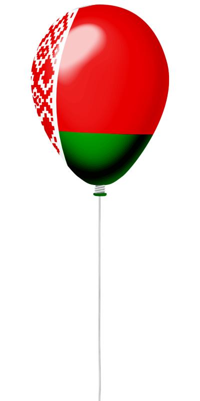 ベラルーシ共和国の国旗-風せん