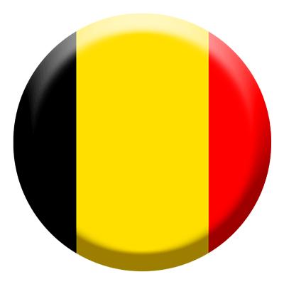 ベルギー王国の国旗-コイン