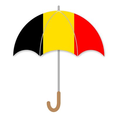 ベルギー王国の国旗-傘
