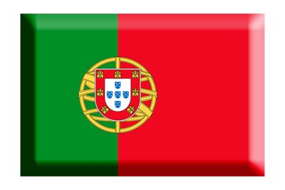 ポルトガル共和国の国旗-板チョコ