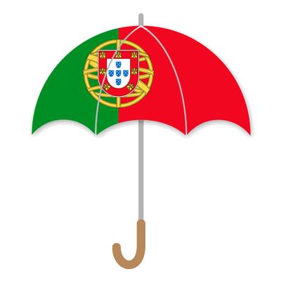 ポルトガル共和国の国旗-傘